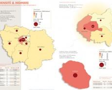 Démographie de l'Île de France et de la Réunion